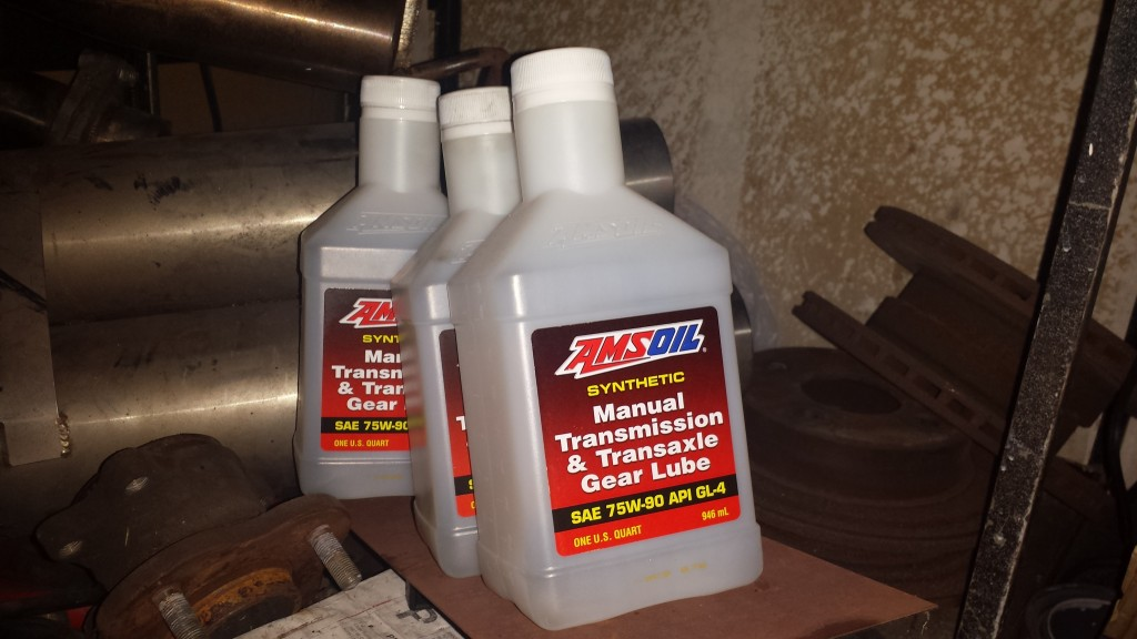 Amsoil Severe Gear 75w 90 Synthetic Differential Oil Corner3 >> Danny Kim Socal S Chassis